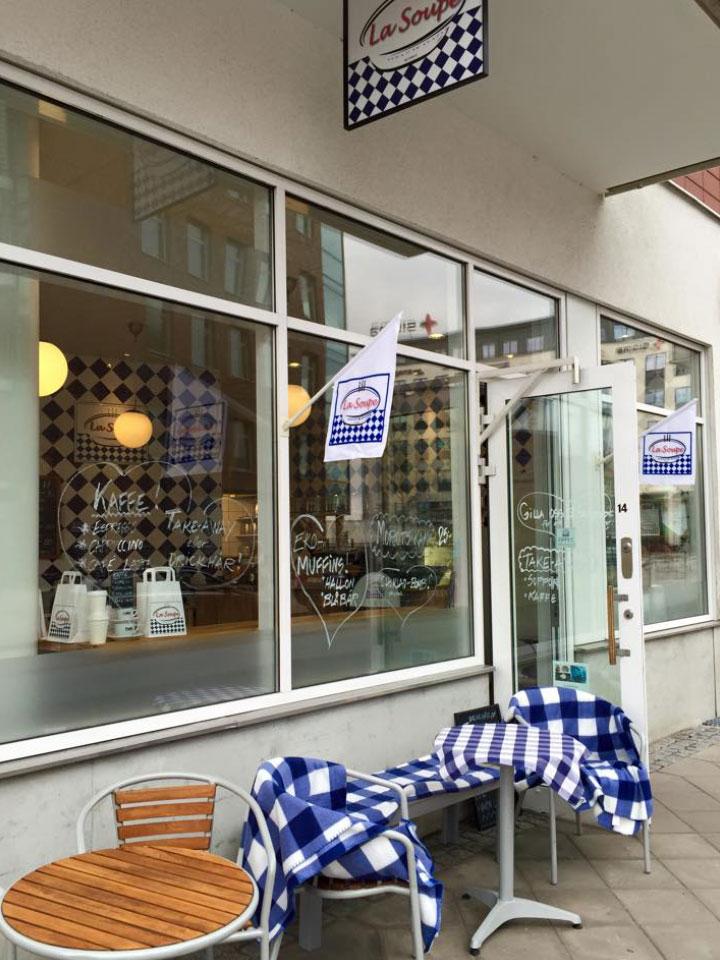 Restaurang La Soup - Isbergs gata
